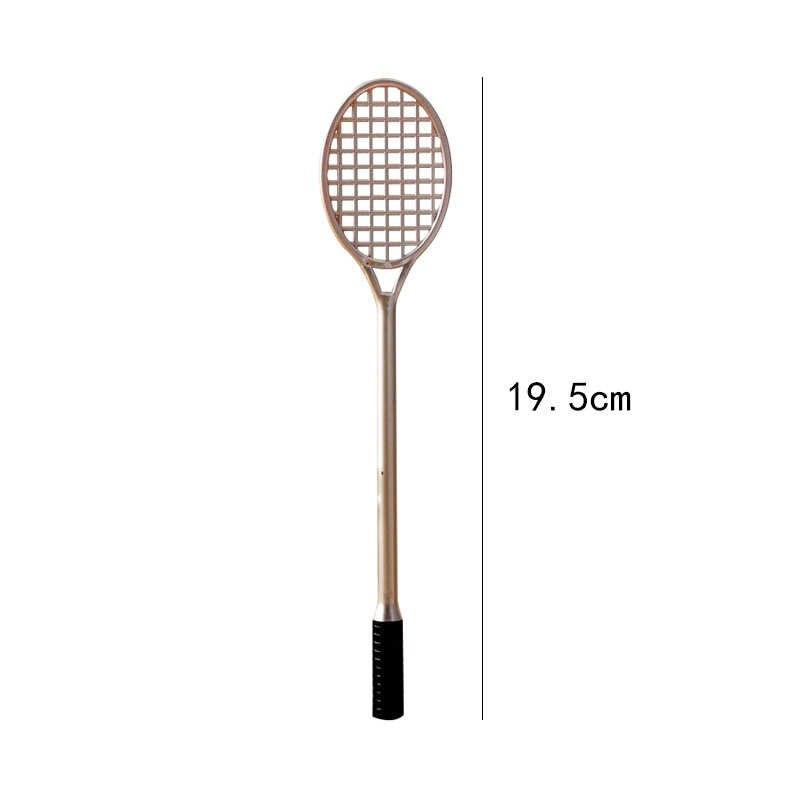 Raquete de badminton brinquedos slime suprimentos encantos rede fofo para lodo modelagem argilas diy accessoires jogar massa crianças brinquedos slime kit