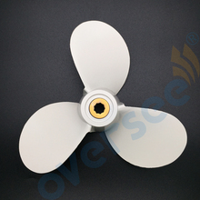 Aluminum Propeller 6E0 45943 01 EL size 7 1 2x7 BA for Yamaha Outboard Engine 5HP