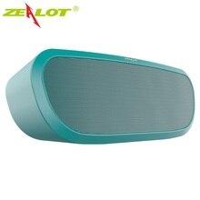 Zealot S9 HiFi Bluetooth Speakers Portable mini Column Music Box Outdoor Wireless Speaker Support TF card,USB Pen Drive