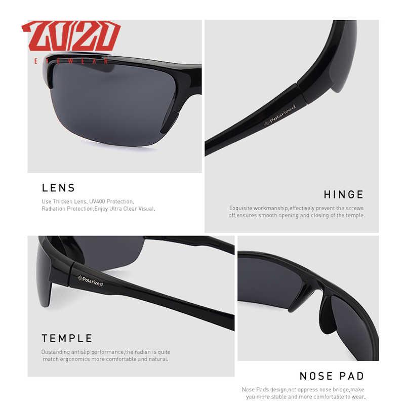 a4556633277 ... 20 20 Brand Design Classic Black Polarized Sunglasses Men Vintage  Square Lens Sun Glasses Male ...