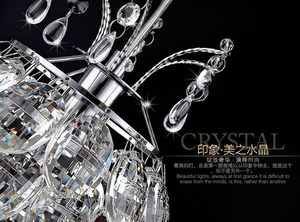 Image 3 - Hanging Lamp for Dining Room Crystal Pendant Light Suspension Cord Modern Pendant Light Fixtures Contemporary Pendant Lights led