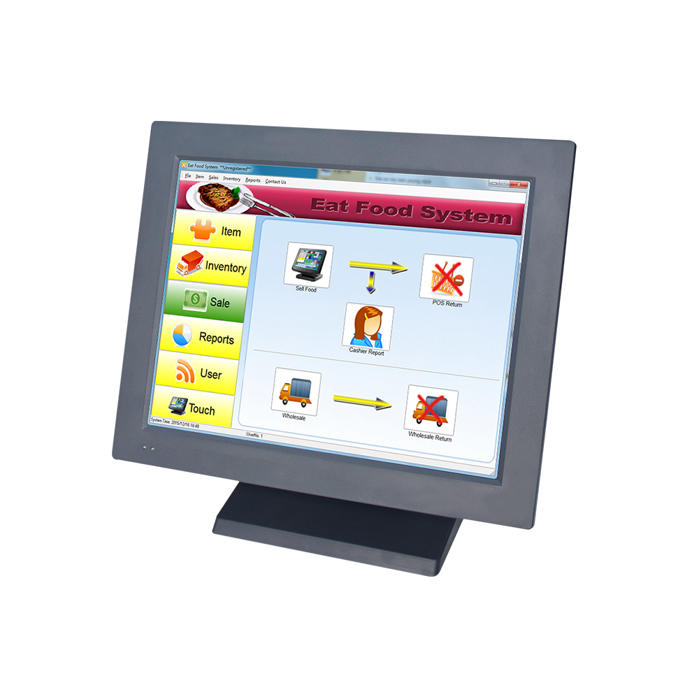 15 Inch Best All In One Touch Screen font b POS b font Machine font b