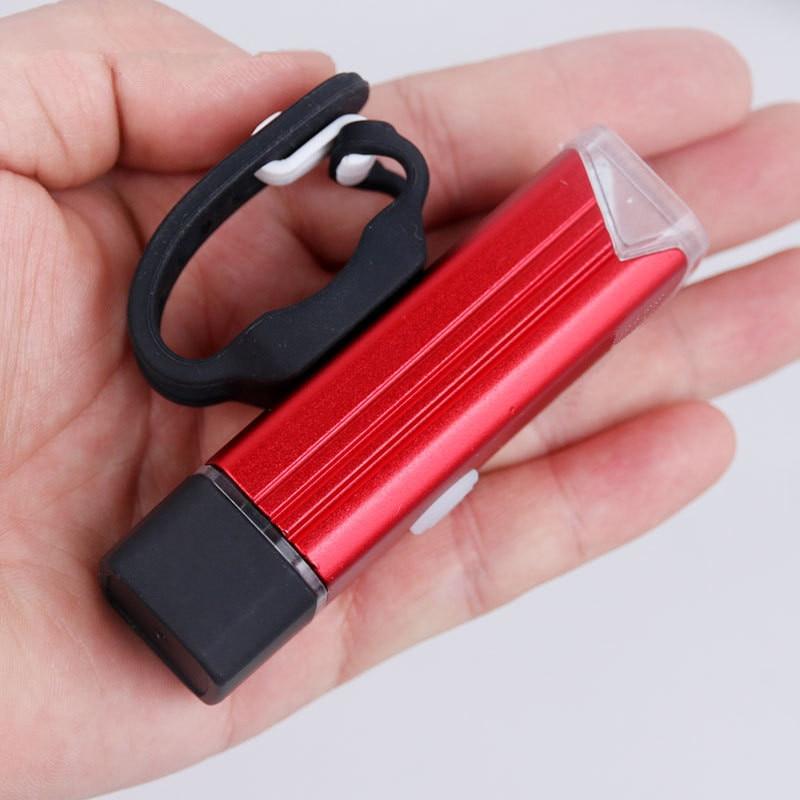 Купить с кэшбэком Bike Front Light USB Rechargeable 1200mAh Bicycle Tail Headlight 300 Lumen LED Waterproof Flashlight For Bike Lamp Cycling Parts