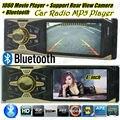 Новый 12 В Автомобильный Радиоприемник mp5 плеер bluetooth автомобиля MP4 MP3 Аудио Плеер телефон handfree USB SD MMC Порт Автомобильный радиоприемник bluetooth В Тире 1 DIN