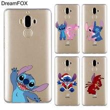 DREAMFOX L605 Stich Soft TPU Silicone Case Cover For Huawei Mate Nova 2 9 10 20 30 Lite Pro Plus