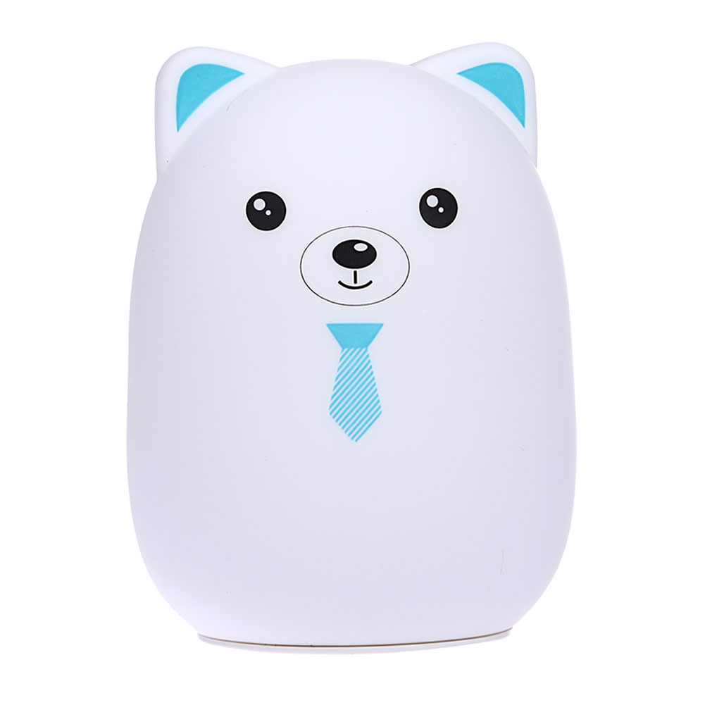 Bear Color Light Changing Silicone Bear Led Night Lights Bedside Lamp Children Cute Toys Night Lamp Bedroom Decoration Light