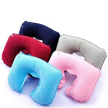 New Unctional Inflatable Neck Pillow Inflatable U Shaped Travel Pillow Car Head Neck Rest Air Cushion for Travel Neck Pillow inflatable frontal travel pillow