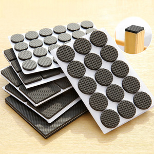 30pcs/set Adhesive Rubber Anti-Skid Scratch DIY Resistant Furniture Feet Floor Protector Pads Table Legs Stools Chairs Mats(China)