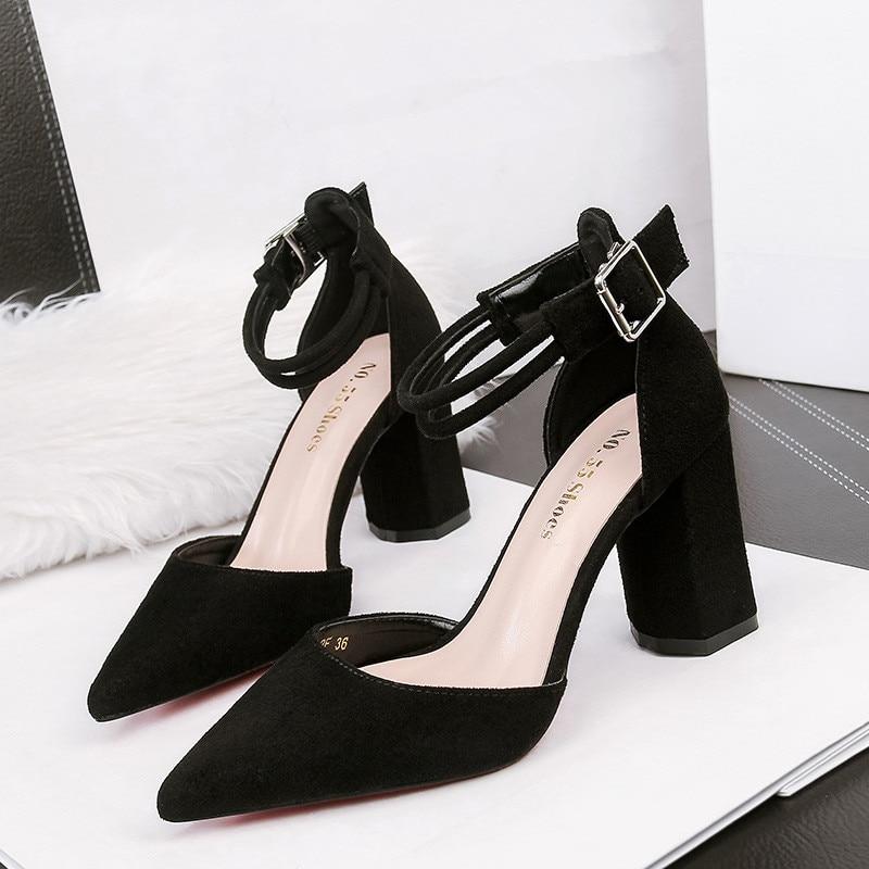 High Heel Sandals Ladies Sexy Shoes