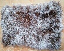 Fur Lamb แผ่นมองโกเลียขนสัตว์พรมพื้นที่พรมแผ่นผ้าห่มสำหรับห้องนอนตกแต่งบ้านพรมและพรมสำหรับห้องนั่งเล่นห้อง จริงทิเบต
