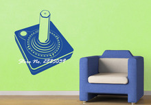Joystick New Design Gamepad Gamer Vinyl Adesivo Wall Teen Room Gaming Room Wall Sticker Home Decor Living Room Art Mural LA236