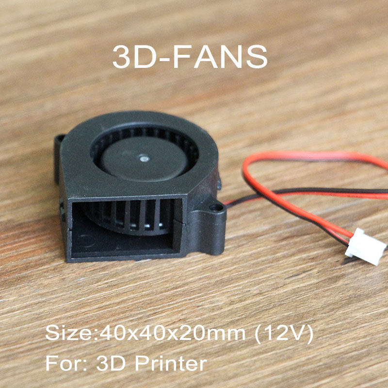 US $2 8 |1Pc Turbo Fan Blower Cooling Fan 4020 12V for 3D Printer 40mm x  40mm x 20mm-in 3D Printer Parts & Accessories from Computer & Office on