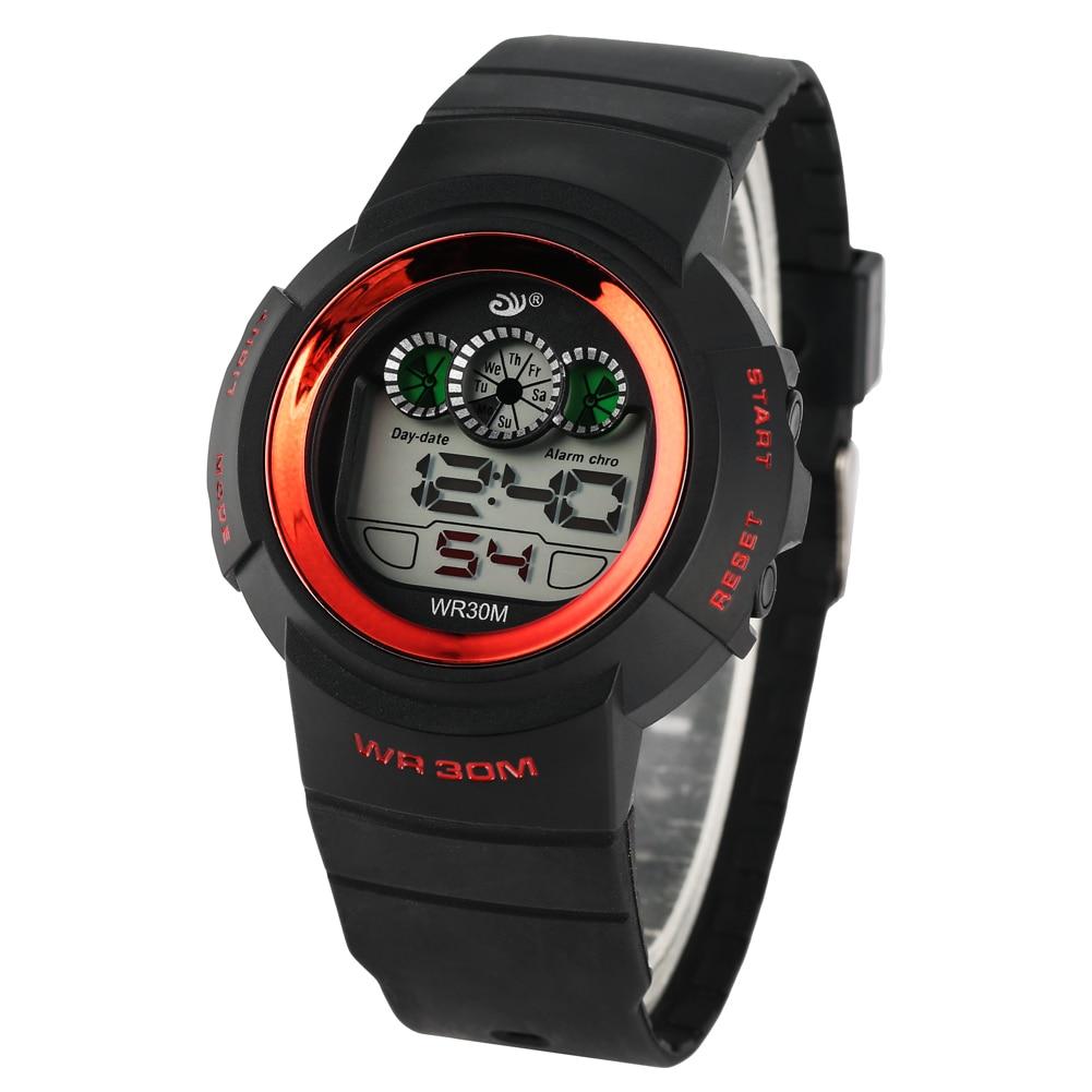 Men 39 s Waterproof Sport Digital Wristwatch Quartz Electronic Watch Outdoor Sport Diving Exercise Electronic Watch for Student in Quartz Watches from Watches