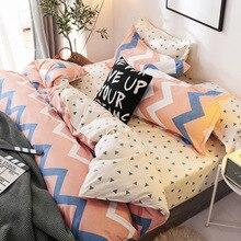 Europe, America,Japan modern Sheet Full Size Pillowcase&Duvet Cover Sets 3&4 pcs bedding set luxury