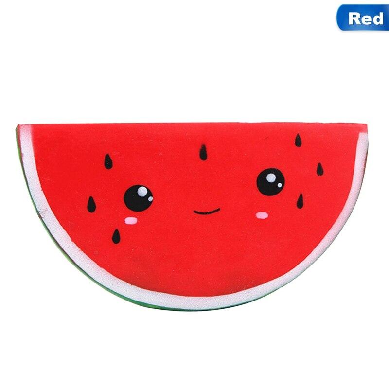 Smiling Face Squishy Squeeze Fun Toy Rising Jumbo Kawaii Watermelon Squishy Slow Kids Antistress Toy