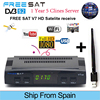 FREESAT V7 HD Receptor DVB S2 Satellite TV Receiver Decoder With 5 LINES EUROPR CCCAM USB