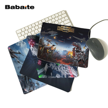 Babaite Star Wars Poster Custom High Quality Cloth Rubber Desktop Laptop Comfortable 18*22cm and 25*29cm Gaming