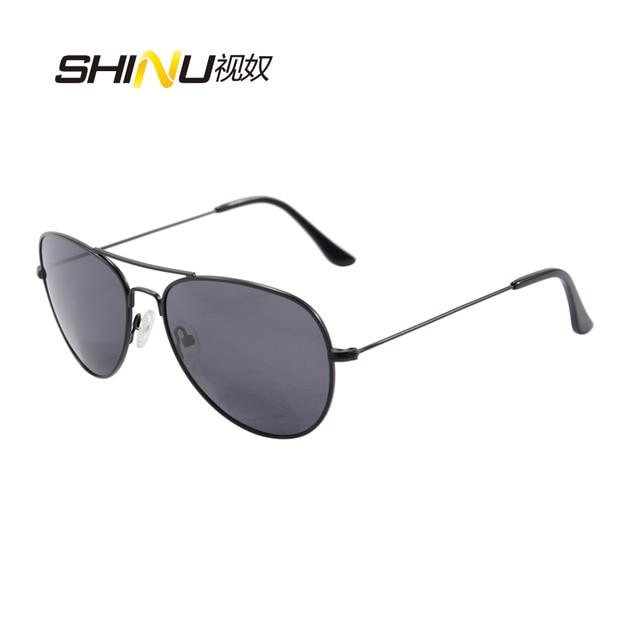 99b2c7144b SHINU polarisées lunettes de Soleil homme femmes Métal Cadre Grey Lens  lunettes de Soleil Cool Lunettes