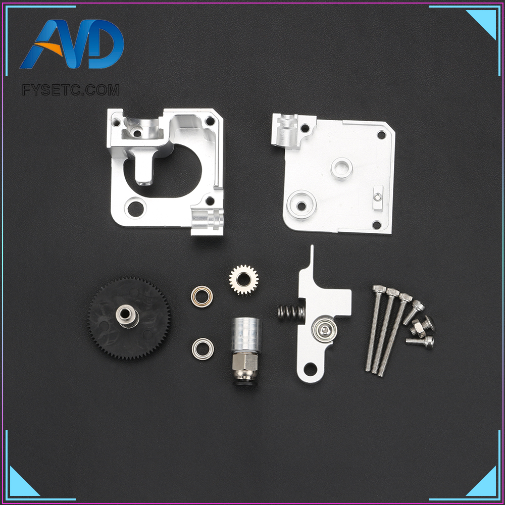 All Metal Titan Aero Extruder 1.75mm For Prusa i3 MK2 3D Printer For Both Direct Drive And Bowden Mounting Bracket3D Printer Parts & Accessories   -