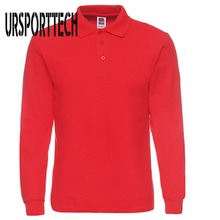 Heren Polo Shirt Merken 2019 Mannelijke Lange Mouw Polo Shirts Mannen Mode Toevallige Katoen Slim Fit Polo Mannen Jerseys Plus size XS 3XL
