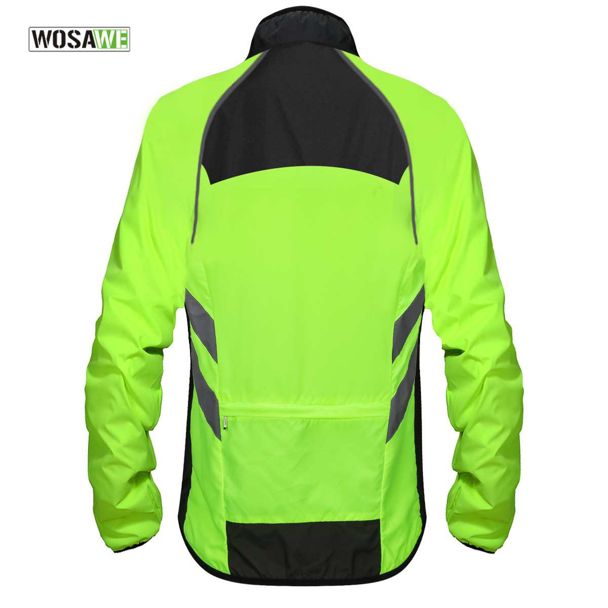 WOSAWE Cycling Rain Jacket High Visibility MultiFunction Jersey Road MTB Bike Bicycle Windproof Quick Dry Rain Coat Windbreaker in Cycling Jackets from Sports Entertainment