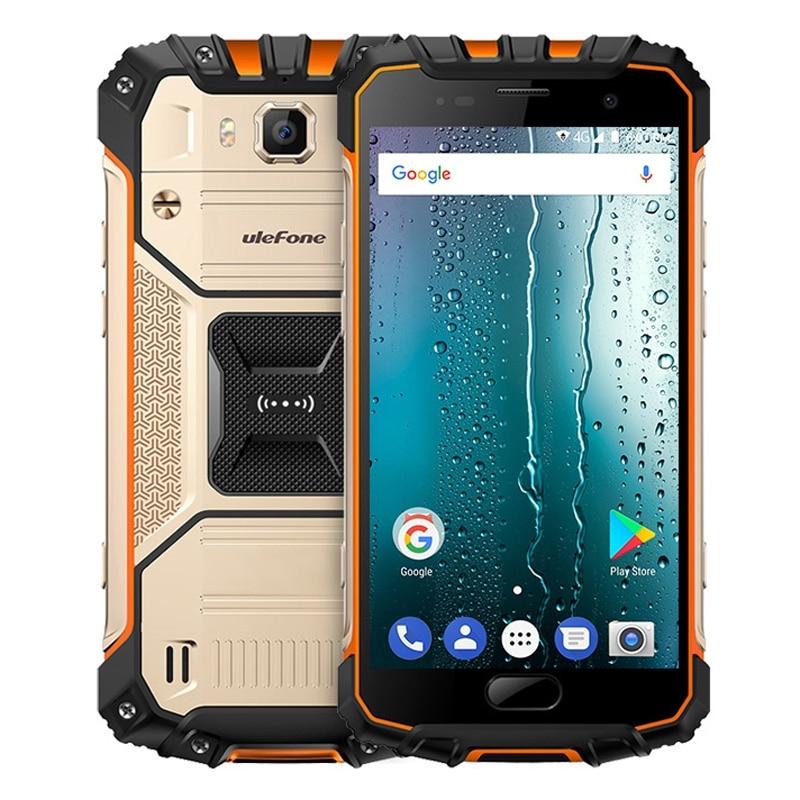 Ulefone Armure 2 s Étanche IP68 Mobile Téléphone 5.0 FHD MTK6737T Quad Core Android 7.0 2 gb + 16 gb 4g Mondial Version Robuste Téléphone