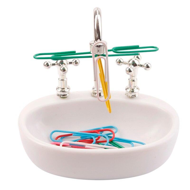 Paper Clip Holder - Kitchen Sink Design