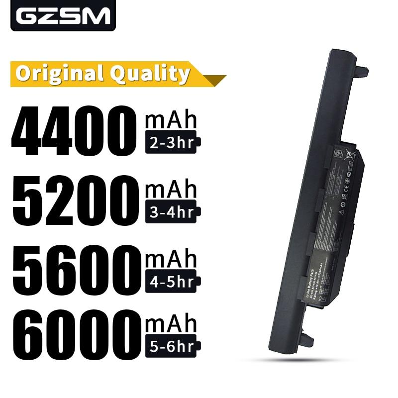 HSW 5200MAH Laptop Battery For Asus A32 K55 A33-K55 A41-K55 A45 A55 A75 K45 K55 K75 X45 X55 X75 R400 R500 R700 U57  Battery