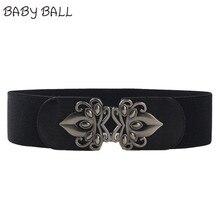 Brand New Women Retro Style Charming Cummerbund Belt Fashion Lady Stretch Elastic Wide Strap Belt Elastic Dress Adornment Oct31