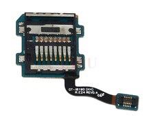 100 original cell phone repair parts Flex Cable For samsung galaxy s3 mini i8190 sim card