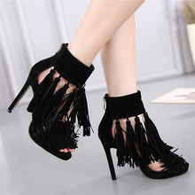 Summer Pumps Women Peep Toe High Heels Party Wedding Platform Gladiator Sandals Woman High Heel Shoes Plus Size 35 – 40