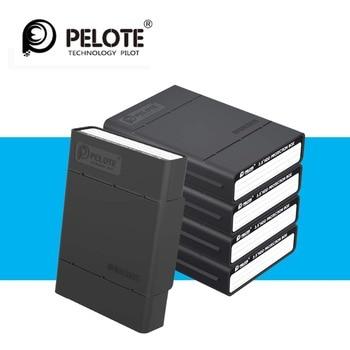 5 adet/grup sabit disk muhafazası basit HDD koruyucu kutu için 3.5 HDD durumda 5 Bay sabit disk koruyucu muhafaza ile darbeye dayanıklı fonksiyonu