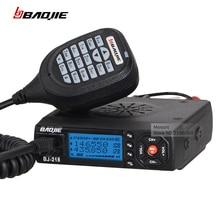 Sprzedaż! baojie comunicador bj-218 dalekiego zasięgu walkie talkie radia samochodowe mini mobilny odbiornik radiowy vhf/uhf ham cb radio dla ciężarówka