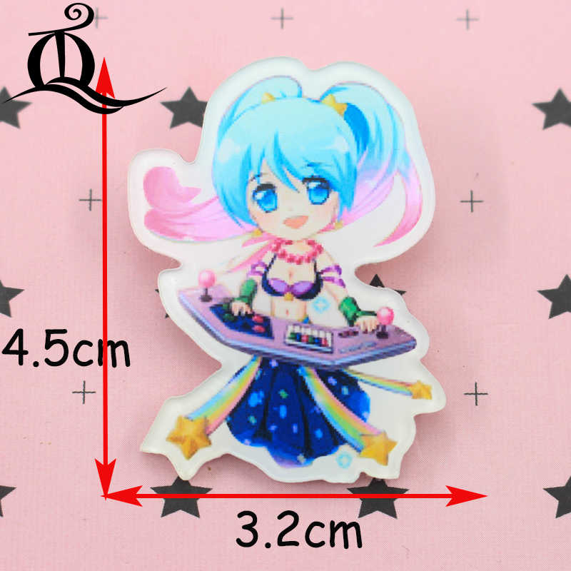 Badges Jl 1pcs Mix Lol Girl Cartoon Icons On The Pin Kawaii Icon Badge Bacges On Backpack Badges For Clothing Acrylic Badges Z25 Arts,crafts & Sewing