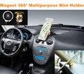 360 grados oro magnético Holder coche imán tablero de instrumentos especial Logo Holder IPAD GPS para VW BMW AUDI Honda Benz Ford Toyota