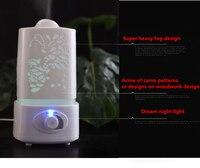 200 Ml Difusor De Aroma Difusor De Aromaterapia Humidificador Ultrasonico Fabricante De La Niebla Purific