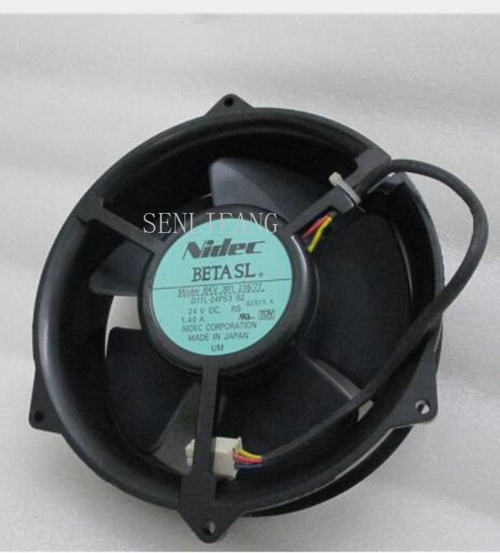 Free Shipping New BKV 301 216/77 D17L-24PS3 02 170 * 170 * 50mm 17cm 170mm DC 24V 1.40A Cooling Fan One Year Warranty