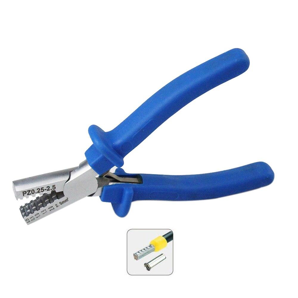 Intelligent Pz 0,25-2,5 Deutschland Stil Crimpen Zange Crimpen Werkzeug Für 0,25-2.5mm2 Kabel Ende Ärmeln Handwerkzeuge