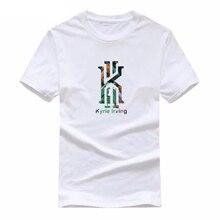 2019 Cheap Sales New Kyrie Irving Print T-Shirt Men Woman T Shirts Summer Cotton Short Sleeve Shirt hip hop Tee