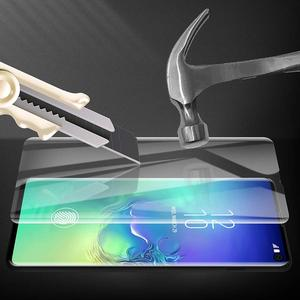 Image 5 - יוקרה 3D מעוקל אנטי ציוץ בוהק מסך מגן עבור iPhone מזג זכוכית פרטיות נייד טלפון מלא כיסוי סרט 100 יח\חבילה בתפזורת