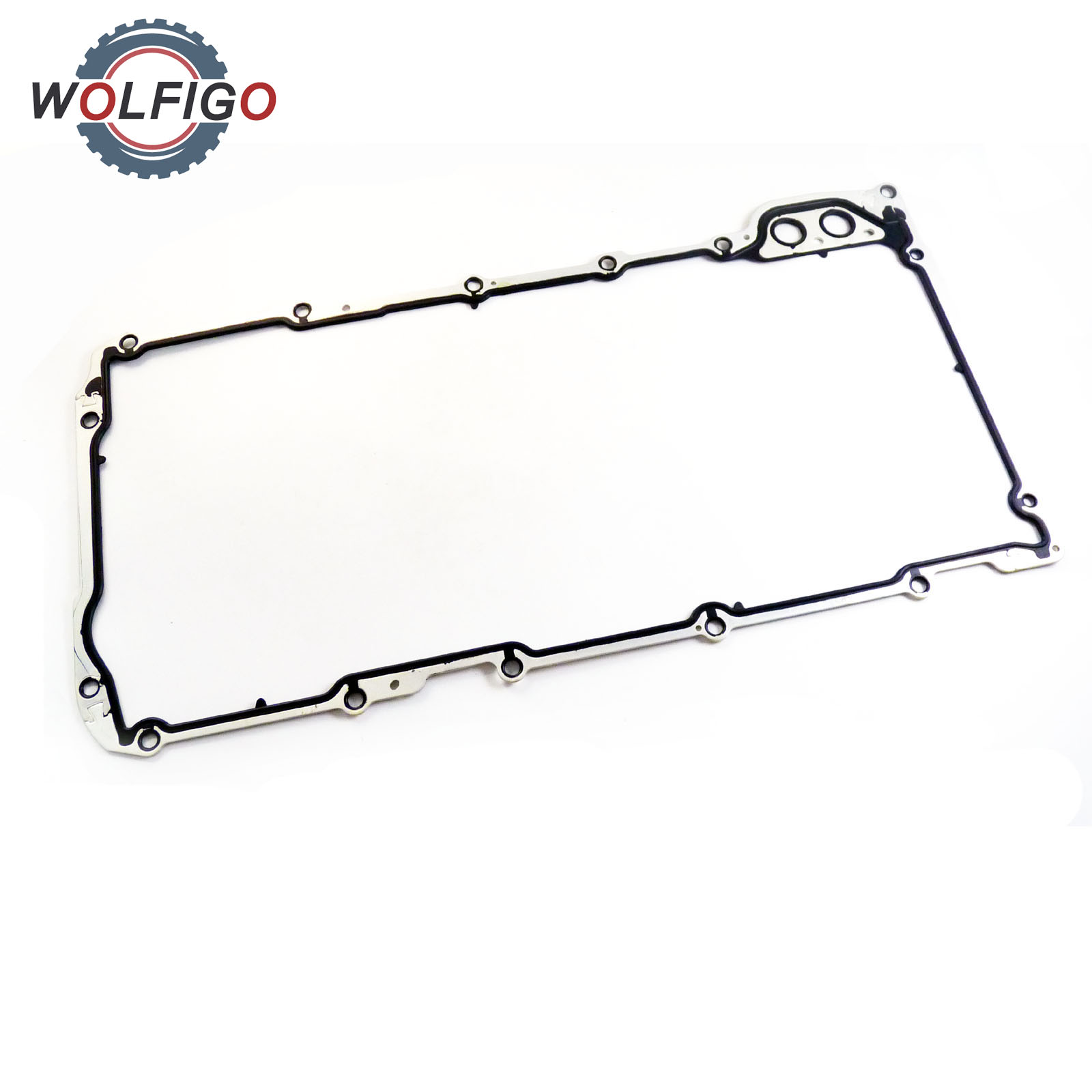 WOLFIGO Engine Oil Pan Gasket 12612350 For BUICK ALLURE