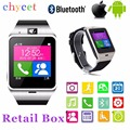 2016 Aplus Bluetooth Smartwatch GV18 NFC Waterproof WristWatch SIM Card Android Watch For iPhone Samsung PK Dz09 GT08 U8 GT08