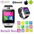 2016 aplus gv18 relógio de pulso à prova d' água nfc cartão sim android relógio bluetooth smartwatch para iphone samsung pk dz09 u8 gt08 gt08
