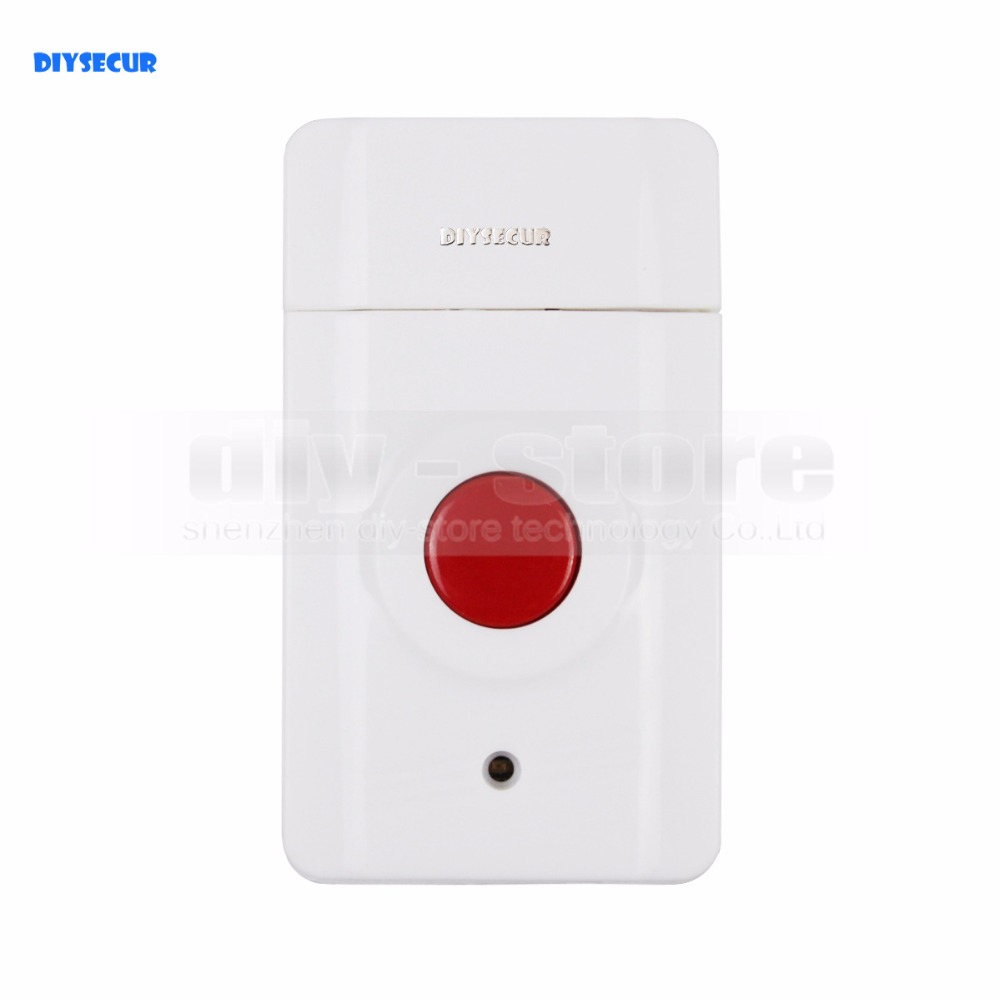 DIYSECUR JA 01 Wireless Emergency Button for Our Related Home font b Alarm b font Home