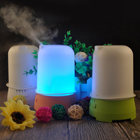 New Hat Air Humidifier Ultrasound Aromatherapy Colorful Night Light Aroma Diffuser Timing Essential Oil Diffuser US
