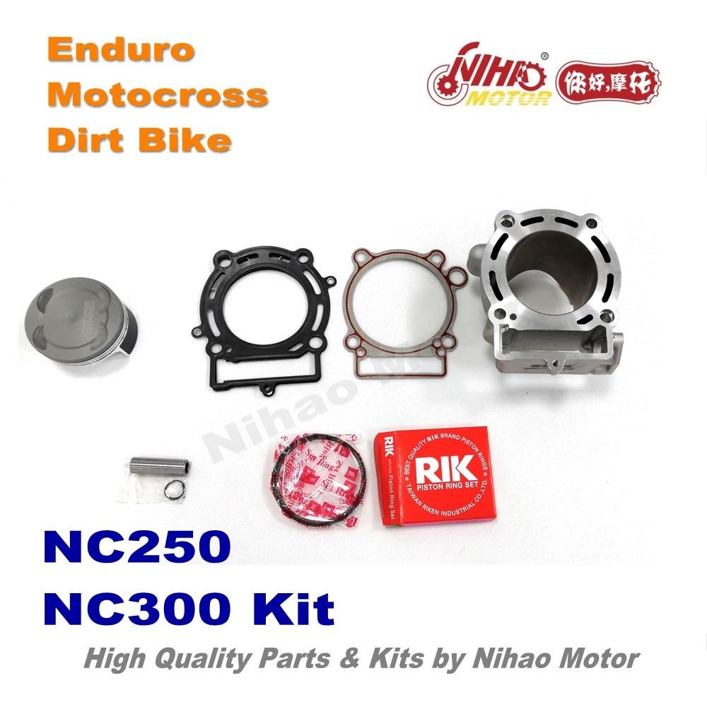 38 Motocross Teile Zongshen Nc250 Nc300 Zylinder Kit Leistung Dichtung Kolben Enduro Racing Motor Motoland Vento Bse Irbis Attraktive Mode