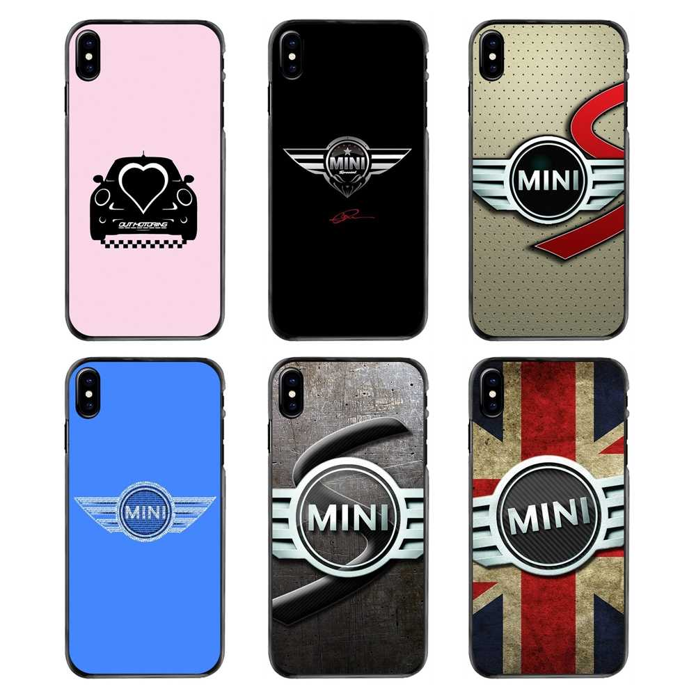 Accessories Phone Shell Cover For Samsung Galaxy Note 2 3 4 5 S2 S3 S4 S5 MINI S6 S7 edge S9 S8 Plus car mini cooper logo
