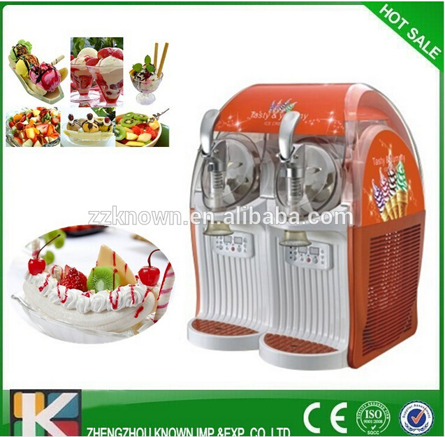 12 L fruit ice cream machine/yoghourt ice cream maker without refrigerant