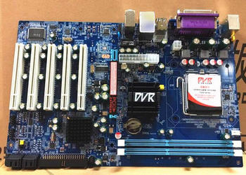 New IPC Board For Intel G41 DDR3 PCI Slot Mainboard LGA775 5-PCI VGA LPT 1-LAN 2-COM 4-SATA DVR Industrial Motherboard