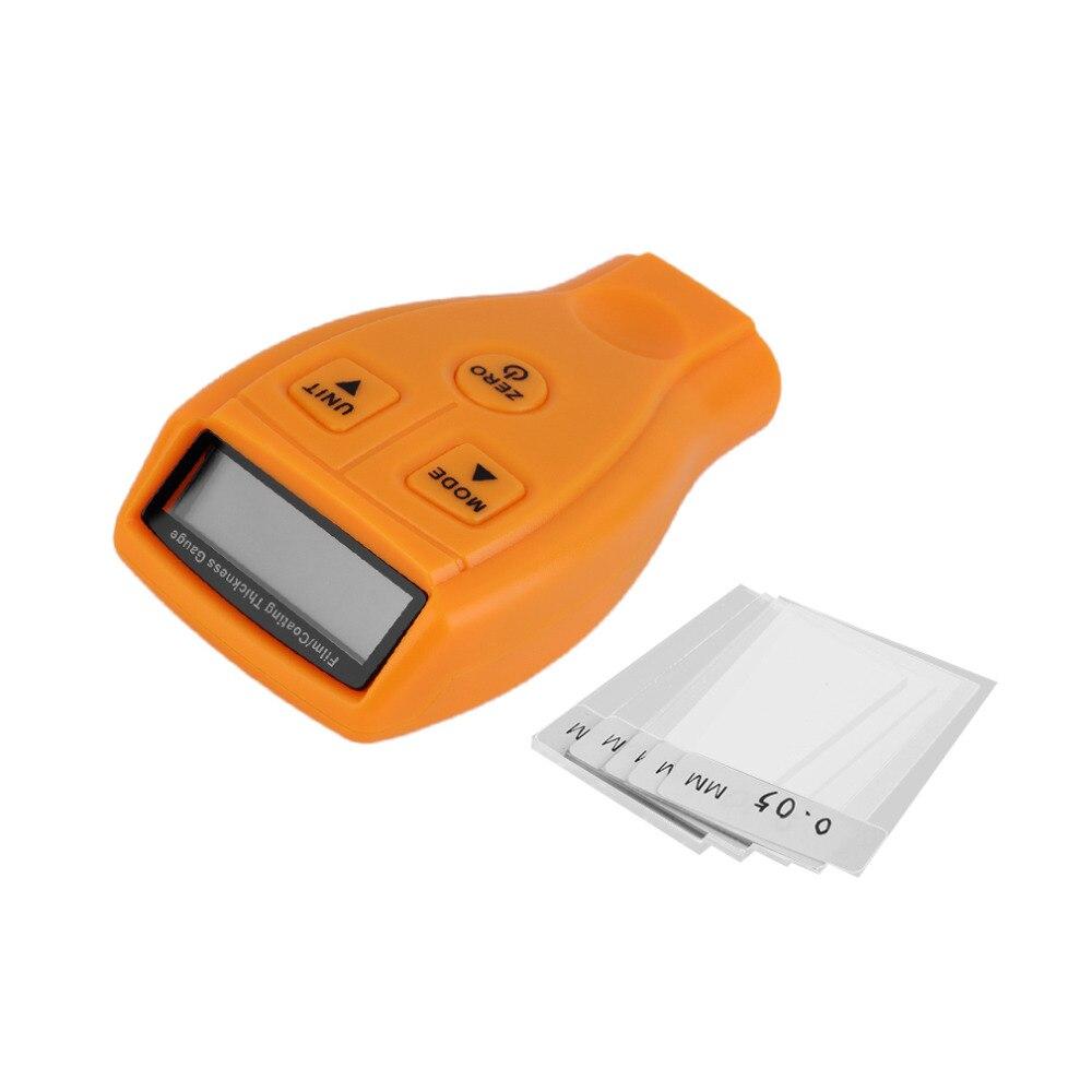 GM200 medidor de espesor de pintura hierro medidor herramienta de diagnóstico automotriz detector ultrasónico de coches pintura recubrimiento medidor envío libre